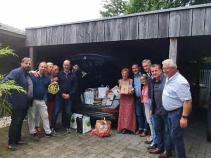 Les membres d'Arras Cœur d'Artois ont procédé à un important don de livres à destination des Loutres du Chel's.